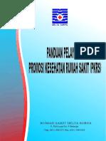 COVER PANDUAN PELAYANAN PKRS