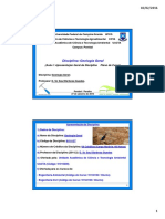 1) Aula - Unidade I (Geologia)
