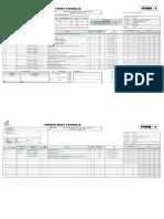 Vendor Print Schedule