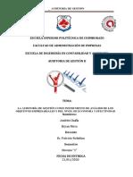 ARTICULO cientiico word LA AUDITORÍA DE GESTIÓN COMO INSTRUMENTO DE ANÁLISIS DE LOS OBJETIVOS EMPRESARIALES Y DEL NIVEL DE ECONOMÍA Y EFECTIVIDAD.docx