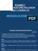 Types of Estimation