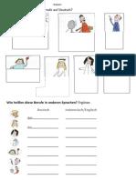 P3 Beruf Arbeitsblatt