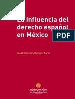 La influencia del derecho español en mexico-Jesus-Gerardo-Sotomayor-Garza
