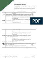Planificación 1°medio primer semestre 2019
