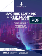 Machine Learning & deep Learning Prodegree