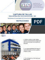 PROCESO DE TOMADE TALLAS  UNIFORMES 2019-2020