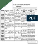 Rúbrica para Evaluar Asignación Digital Tipo Monografía
