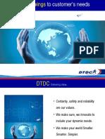 DTDC Corporate Presentation