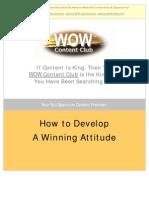 Winning Attitude 01