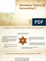 Normative theory of accounting II