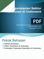 Pengorganisasian Sektor Kesehatan di Indonesia.ppt