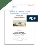 Karnataka Tourism Statistics.