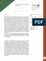 Agricultura y alimentación en el México prehispánico