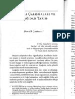 David Quataert, Osmanlı Çalışmaları ve Aşağıdan Tarih
