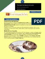 Boletín N° 74, del 25 al 31 de Octubre de 2010
