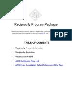 Reciprocity Pkg