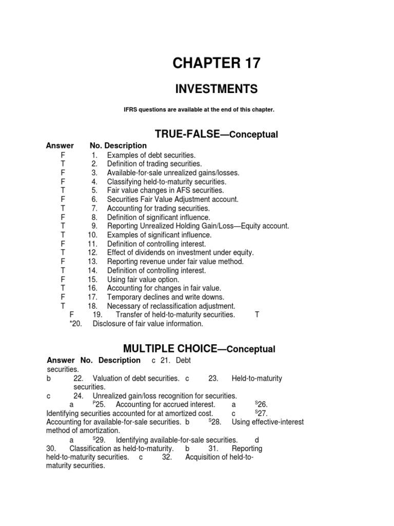 Lhvarsitymath chapter 17 investments harbor group investments vi lp