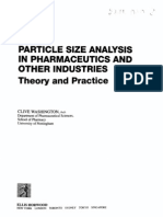 Particle Size Analysis In Pharmaceutics And Other …