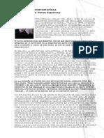 entrevista Eisenman, Edificio Pompiduo análisis