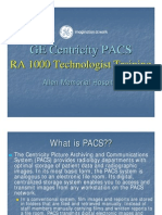Ge Centricity PACS User Training Technologist)
