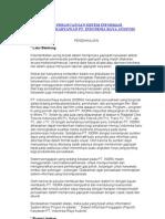 Analisa Dan Perancangan Sistem Informasi Penggajian Karyawan Pt