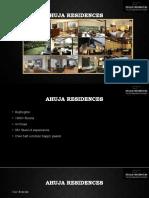 Ahuja Residences MT Program