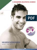 Verlagsprogramm Bruno Gmünder Januar - Juni 2011