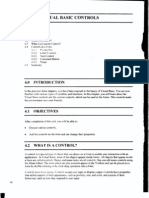 Unit 4 VISUAL BASIC CONTROLS