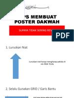 tips poster faedah
