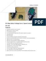 Device Craft Wiper Motor Spec