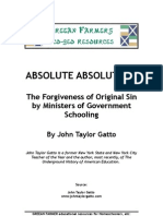 6128210 Absolute Absolution by John Taylor Gatto