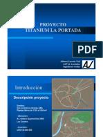 Proyecto Titanium La Portada - Alfonso Larrain