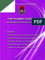 The PUMBA Gazette - November 2010 Edition