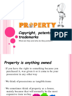 Copyright, Patent and TM