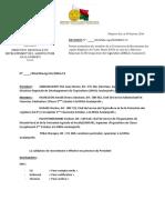 DECISION PORTANT NOMINATION MBR RECRUTEMENT ECD DE LA DRDA 2016