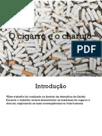 O cigarro e o charuto