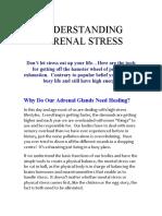 Understanding Adrenal Stress