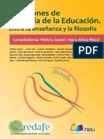 Cuestiones de filosofía de la educación (2)