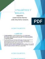 Acido Palmítico y Málico
