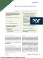 Management of Pediatric Gastroesophageal Reflux Disease