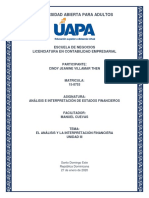 ANÁLISIS E INTERPRETACIÓN DE LOS ESTADOS FINANCIEROS - TAREA UNIDAD III.docx