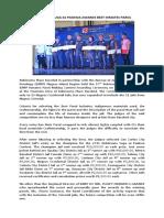 Press Release Suga sa Paskwa