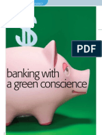 """Banking with a green conscience"" - for IET's Engineering & Technology (UK)"