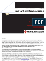 Past Time for Remittance Justice