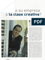 La Clase Creativa Richard Florida