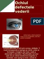 Ochiul - Fizica