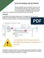 Tutorial Como Baixar Livros De Qualquer Site Em PDF.docx