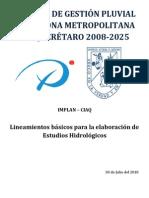 Lineamientos Para Estudios Hidrologicos