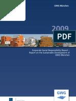 CSR Report 2009 - GWG Munich (English)