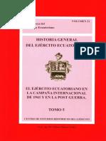 El Ejercito Ecuatoriano en la Campaña Internacional de 1941